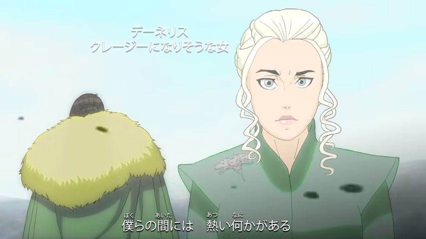 Game of Thrones anime2
