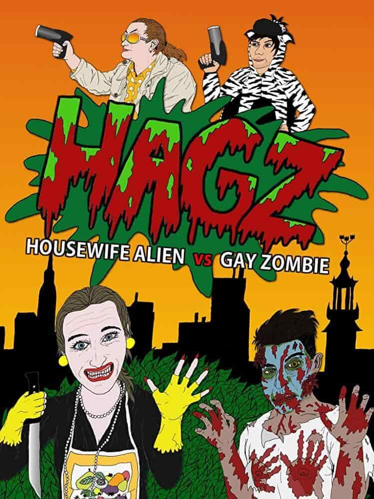 Housewife Alien vs. Gay Zombie