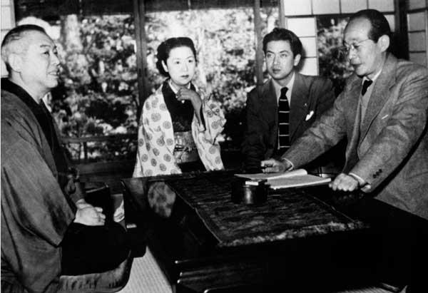 Kenji Mizoguchi ve Kinuyo Tanaka