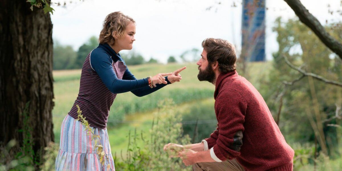 Millicent Simmonds a quiet place