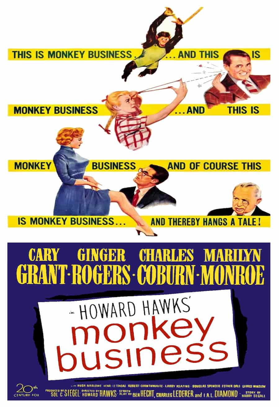 Monkey Business (1952)