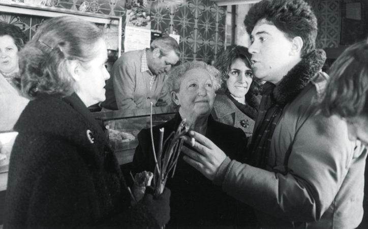 Pedro Almodóvar ve Chus Lampreave