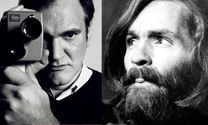 Quentin Tarantino charles manson