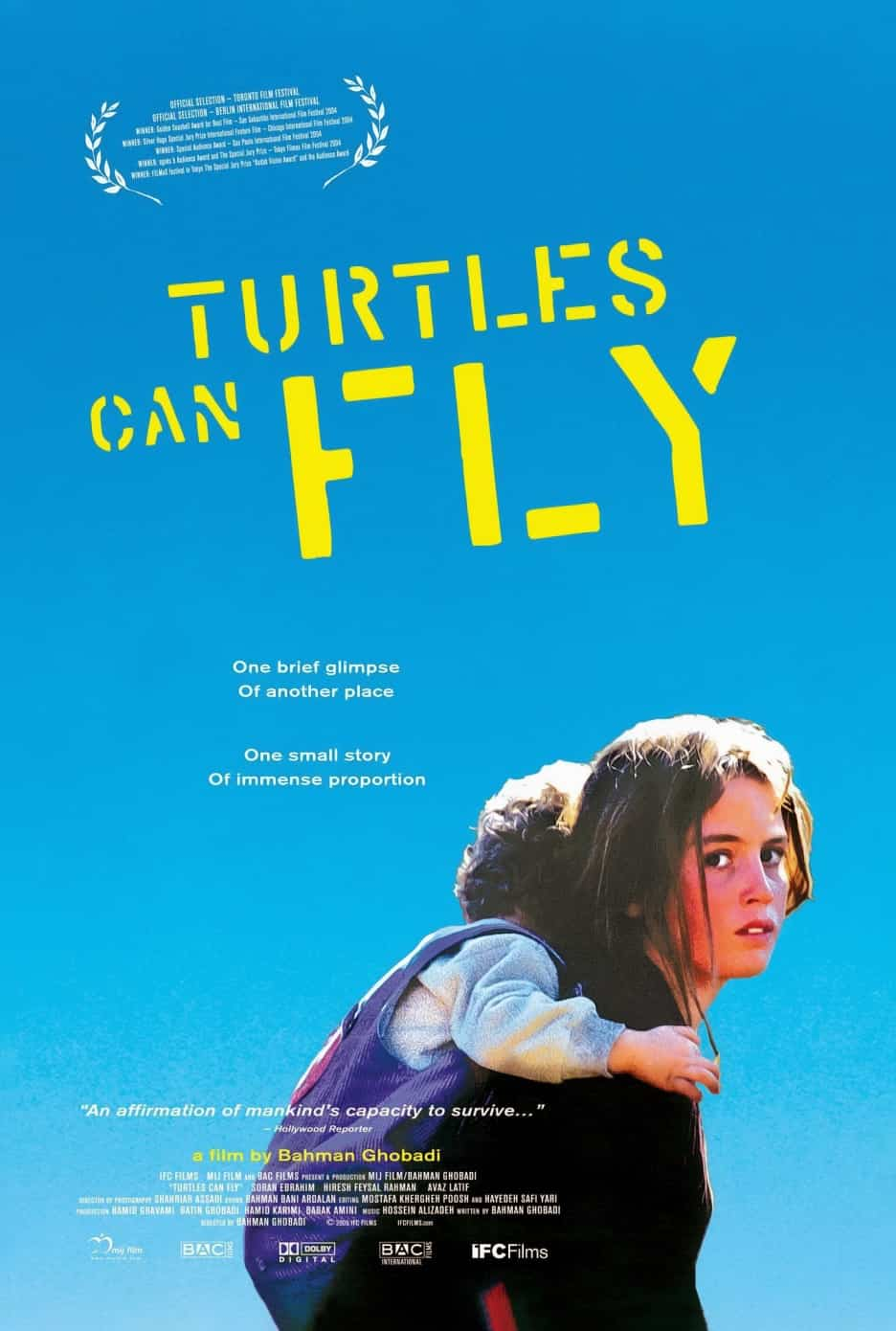 Turtles Can Fly (2004) poster