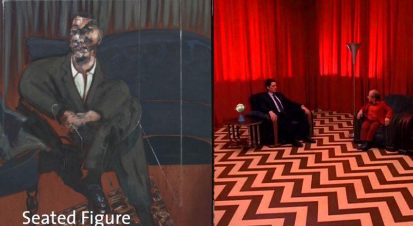 Twin Peaks Seated Figure