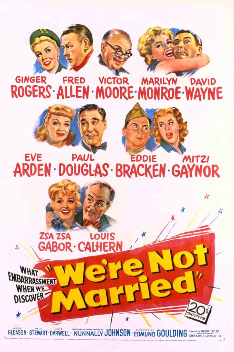 We're Not Married! (1952)