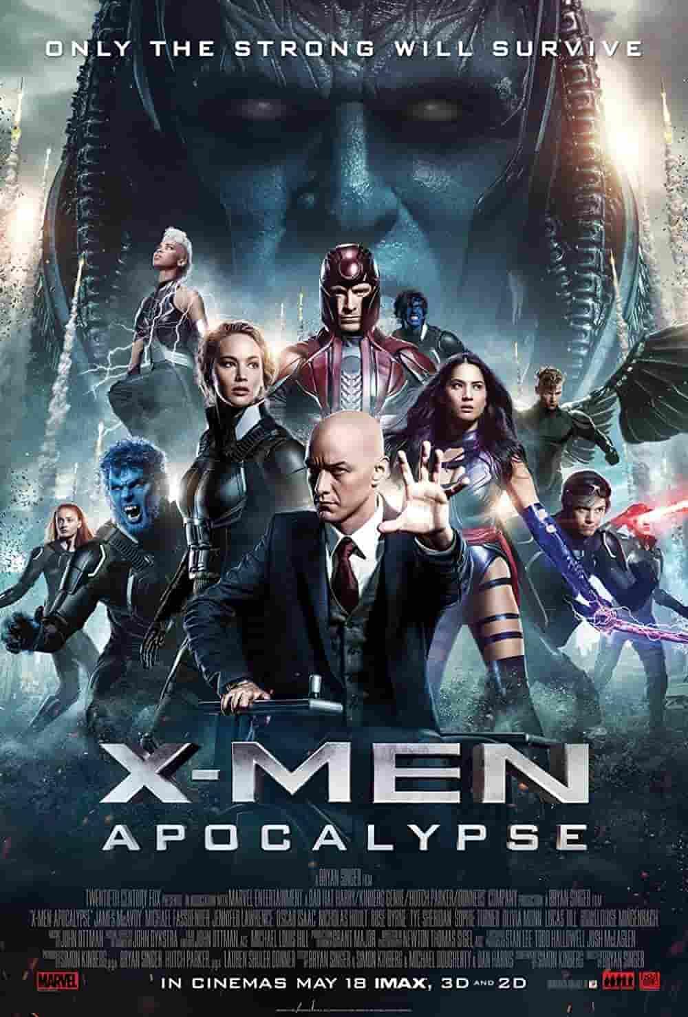 X-Men- Apocalypse (2016) (1)