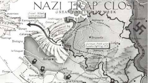 dunkirk harita