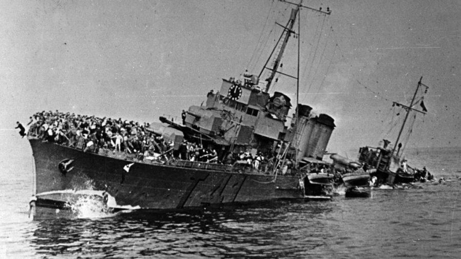 dunkirk tahliye gemisi