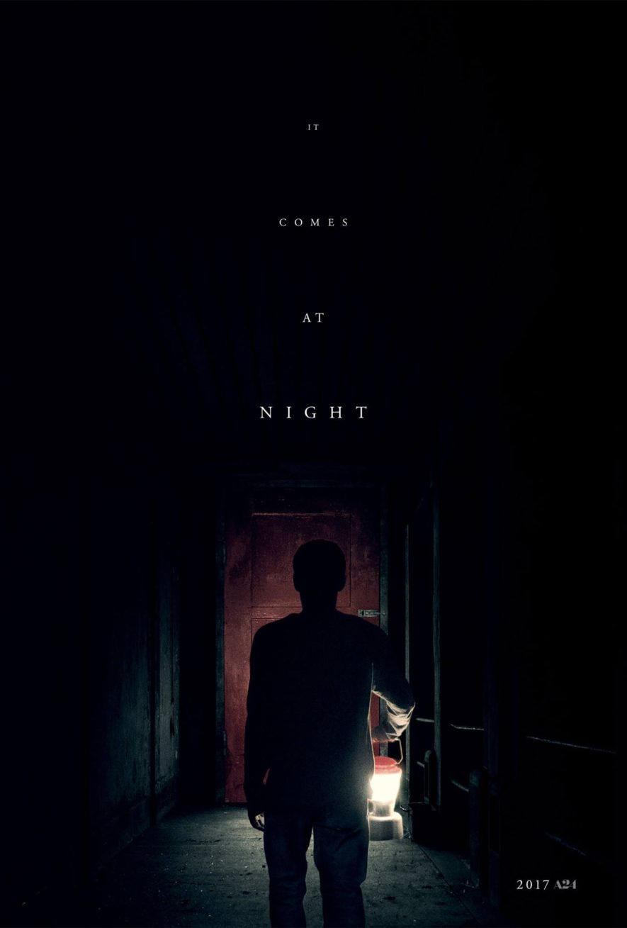 it comes at night - red door