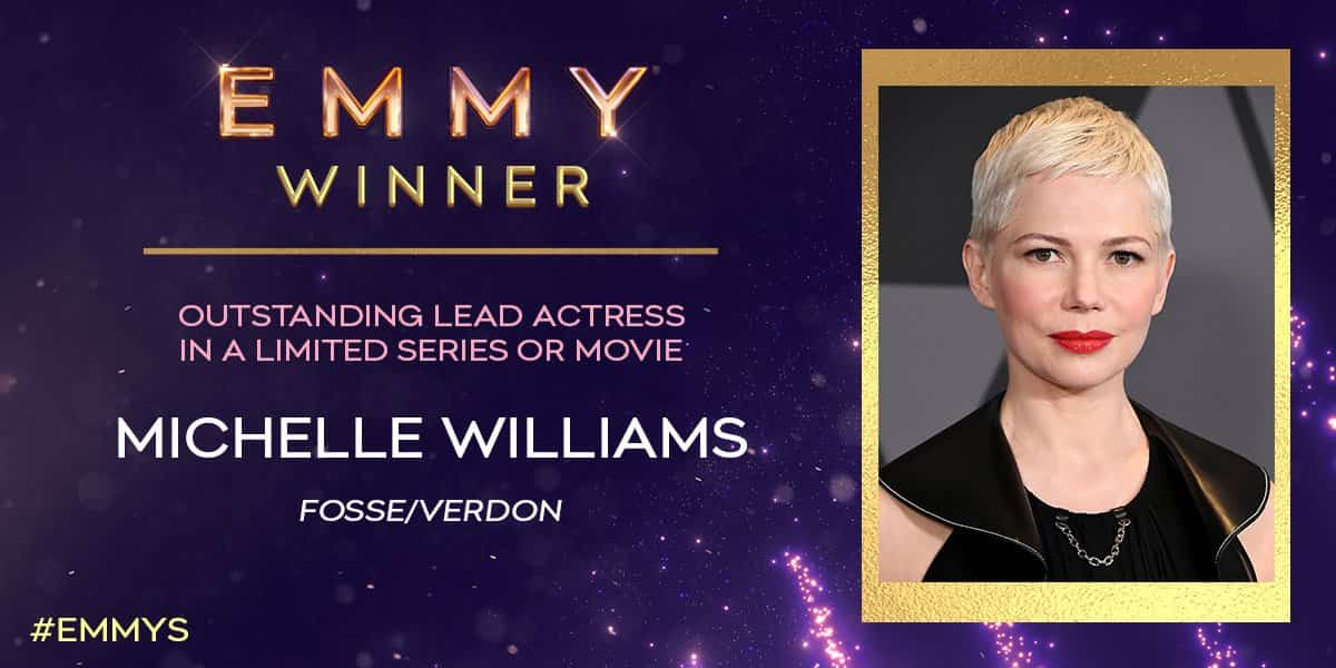 michelle williams emmy