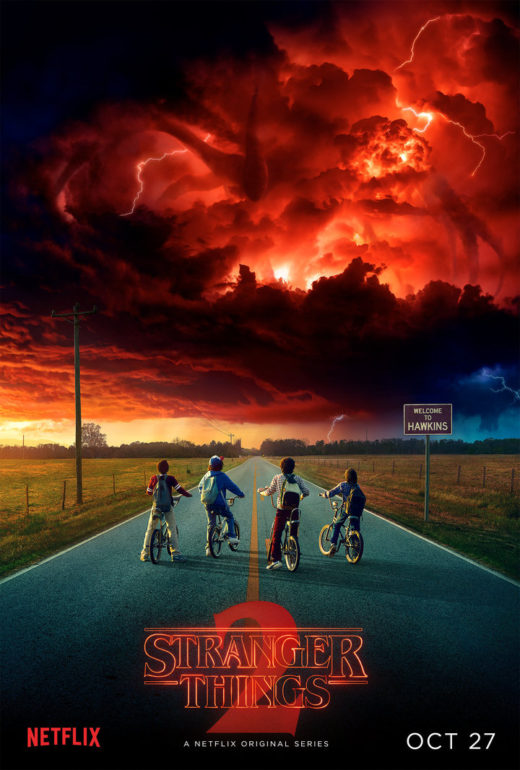 stranger things ikinci sezon afis